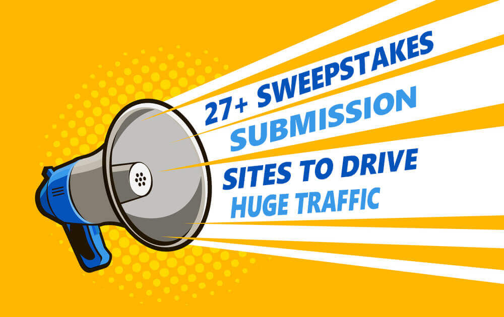 top sweepstakes websites to enter free giveaways