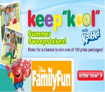 Family Fun Keep Kool Summer Sweepstakes