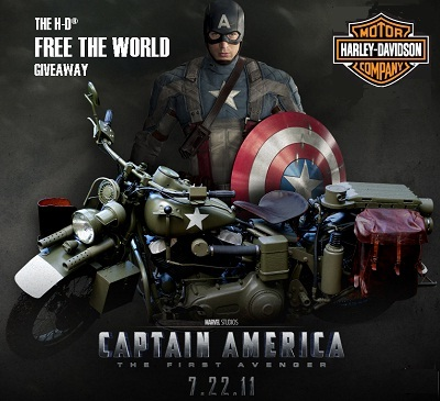 H-D Free the World Giveaway: Win bike + Trip