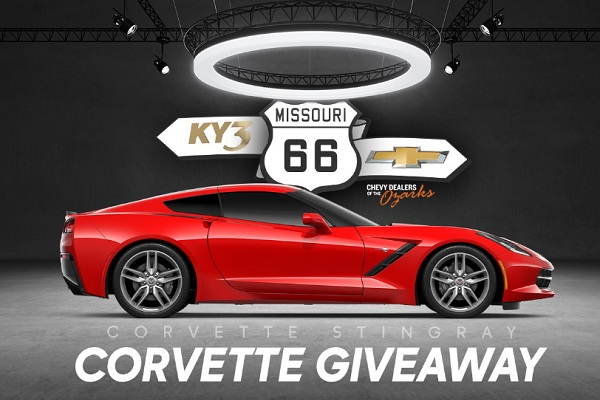 Ky3 66th Anniversary Corvette Giveaway: Win 2019 Chevrolet Stingray!