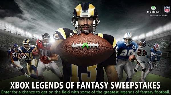 Xbox Legends Of Fantasy Sweepstakes