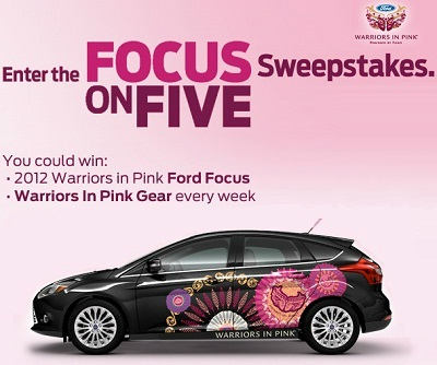 Focus on Five Sweepstakes