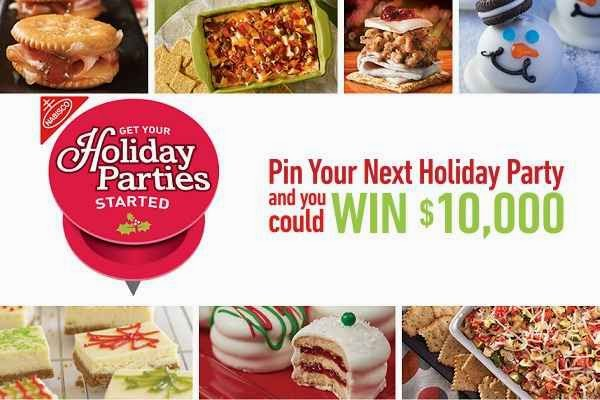 Get Your Nabisco Holiday Parties Started Sweeps
