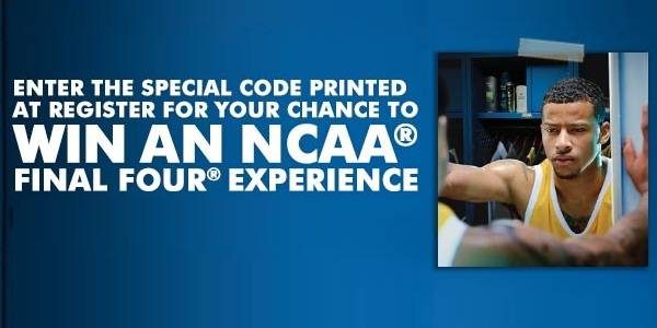 NCAA Get Game Ready Sweepstakes at Walgreens