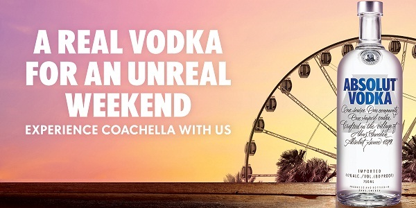 Absolut Coachella Sweepstakes on AbsolutFestival com