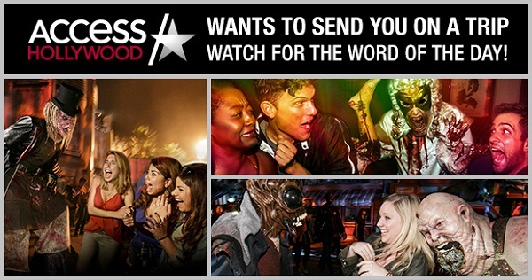 Access Hollywood Halloween Horror Nights Sweepstakes