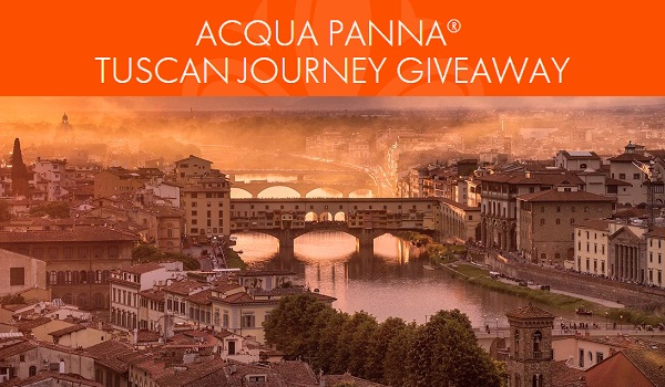Acqua Panna Tuscan Journey Giveaway: Win Over $100,000 in Prizes