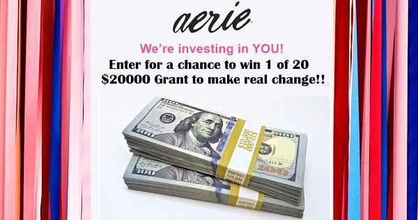 Aerie Real Change Contest 2020