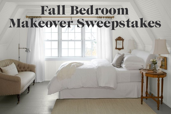 Bedroom makeover sweepstakes