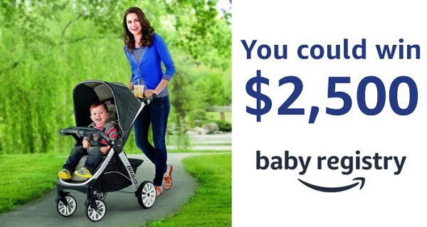 Amazon.com Baby Registry Sweepstakes