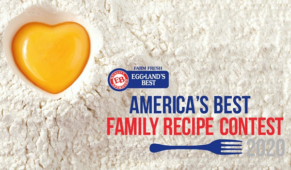 Eggland's Best America's Best Family Recipe Contest 2020