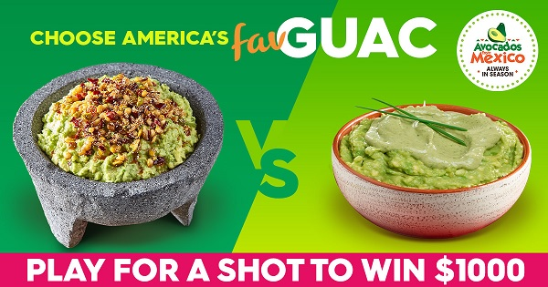 America's Favorite Guac Sweepstakes on Americasguac.com