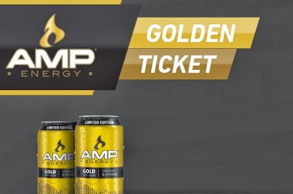 AMP Energy Gold Instant Win Game 2013