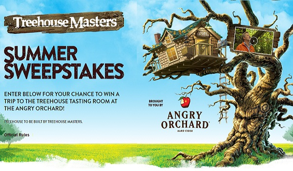 Treehouse Masters Summer Sweepstakes Sweepstakesbible