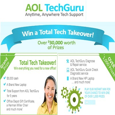 Win Total Tech Makeover with AOL