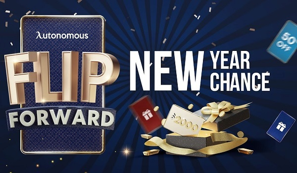 Autonomous Flip Forward Game: Win Cash Prizes