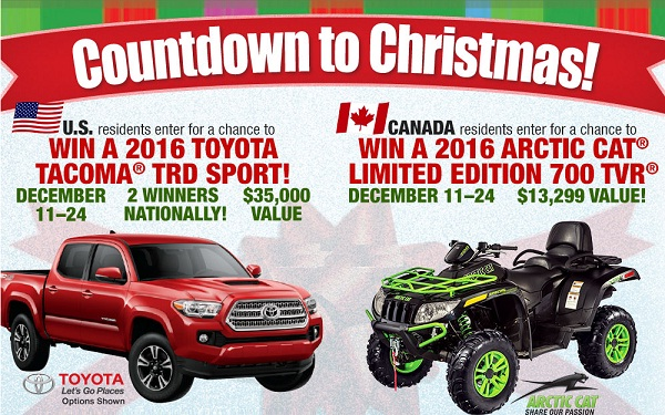 the christmas countdown has begun now to celebrate the festive season bass pro is sponsoring a sweepstakes named the countdown to christmas 2015 to - Countdown To Christmas 2015
