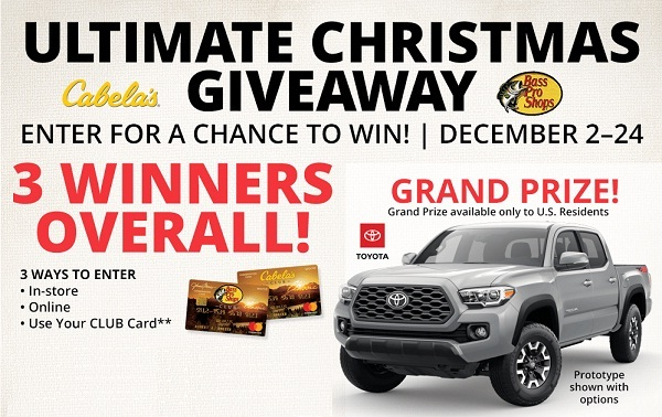 Basspro.com Ultimate Christmas Giveaway