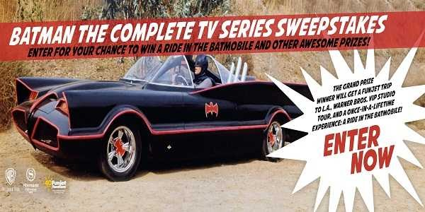 Batman the Complete TV Series Sweepstakes