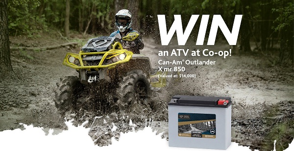 Win an ATV at Co-op Contest
