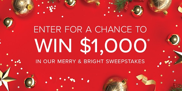 Merry and Bright Sweepstakes