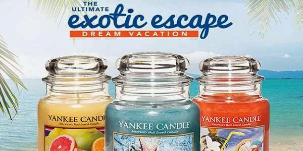 Bed Bath & Beyond Yankee Candle Exotic Escape Sweepstakes