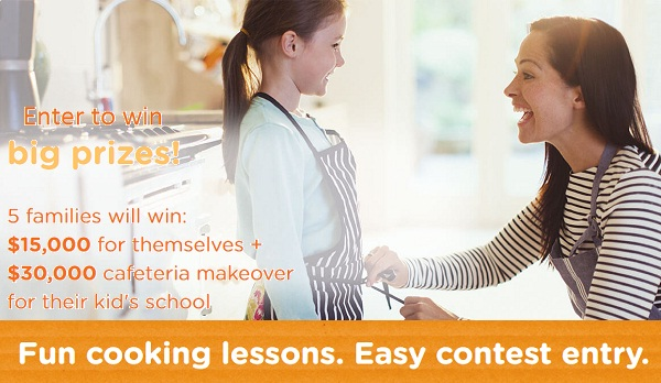 Prizes for kids cooking contest