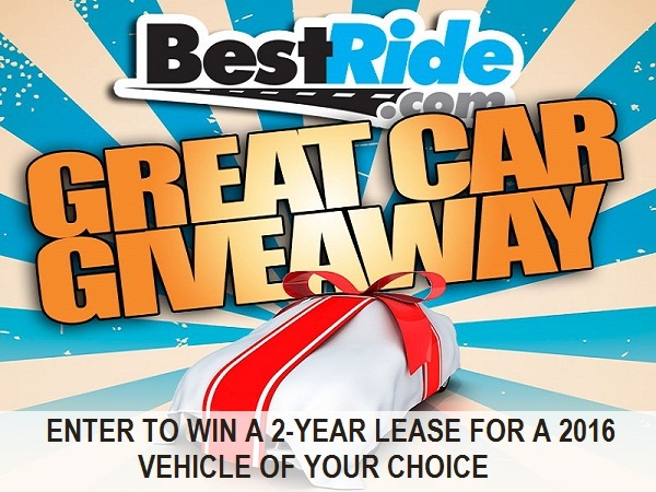 Best Ride Great Car Giveaway