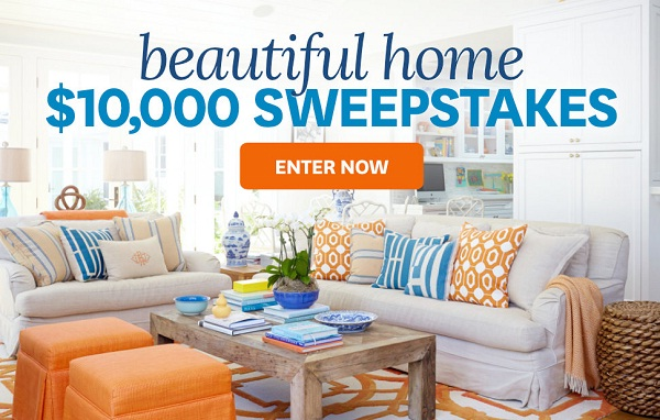 BHG $10,000 Beautiful Home Sweepstakes