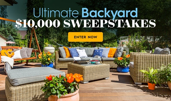 BHG.com $10k Summer Sweepstakes