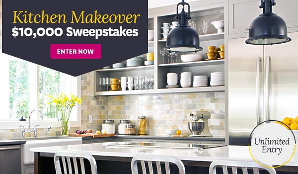 Win $10K Kitchen Makeover with BHG | SweepstakesBible