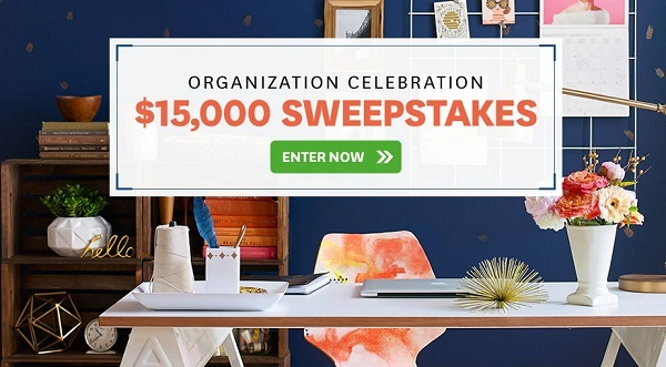 Bhg.com/15ksweeps - Organize Your Space $15K Sweeps