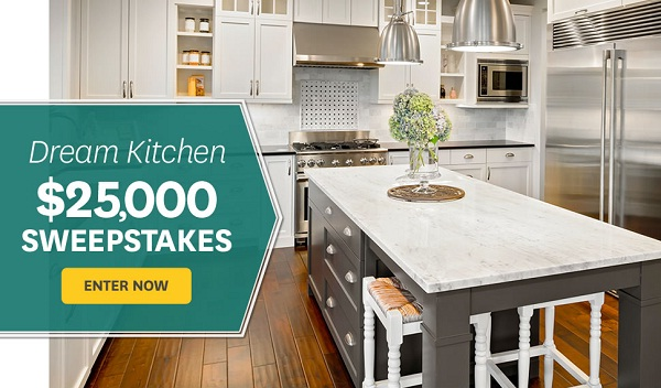 Bhg.com $25K Dream Kitchen Sweepstakes