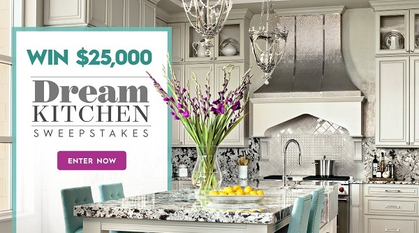 Bhg.com $25K Spring Dream Kitchen Sweepstakes
