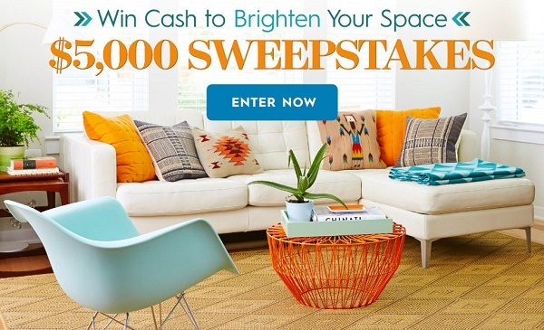 Better Homes and Gardens $5,000 Sweepstakes