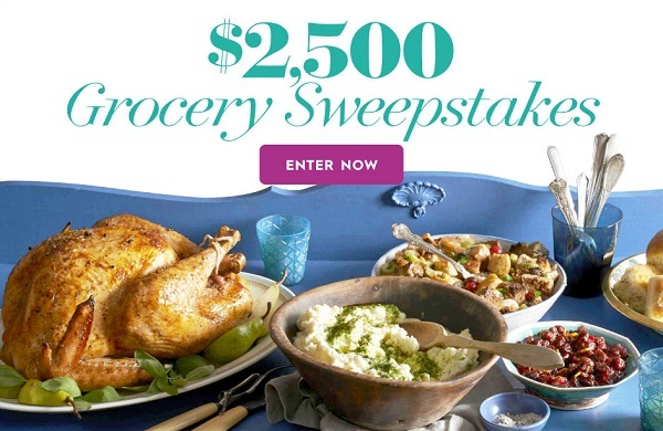 Bhg.com $2,500 Grocery Sweepstakes