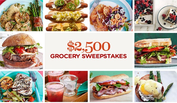Win $2,500 in BHG.com Grocery Sweepstakes