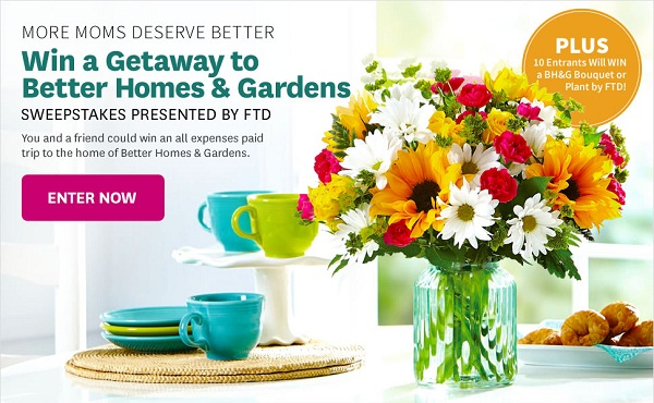 BHG More Moms Deserve Better Sweepstakes