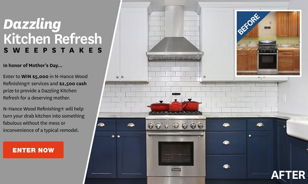 BHG.com N-Hance Dazzling Kitchen Refresh Sweepstakes