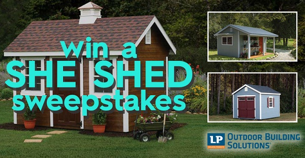 Better Homes And Gardens Diy She Shed Sweepstakes Sweepstakesbible