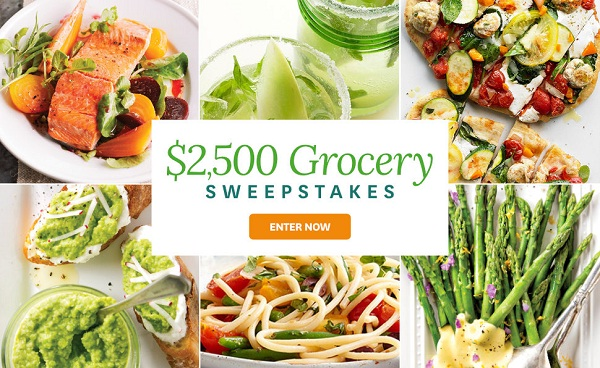 BHG.com $2,500 Spring Grocery Sweepstakes