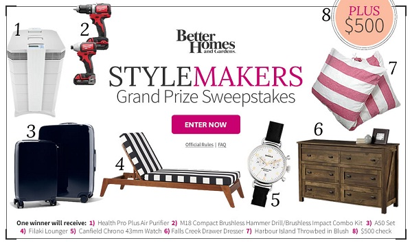 win bhg sweepstakes today