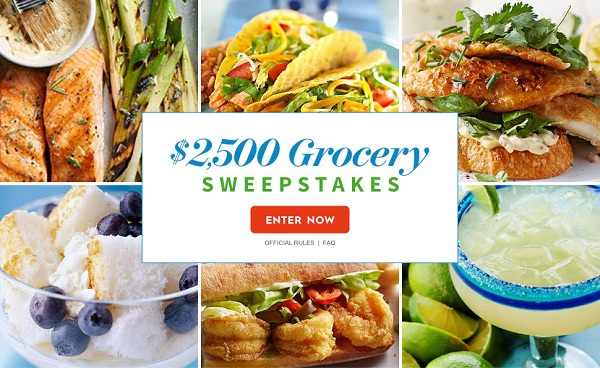 Bhg.com $2,500 Summer Grocery Sweepstakes