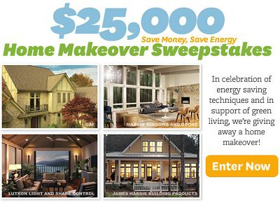Win 25 000 in win home makeover sweepstakes for Win a home contest