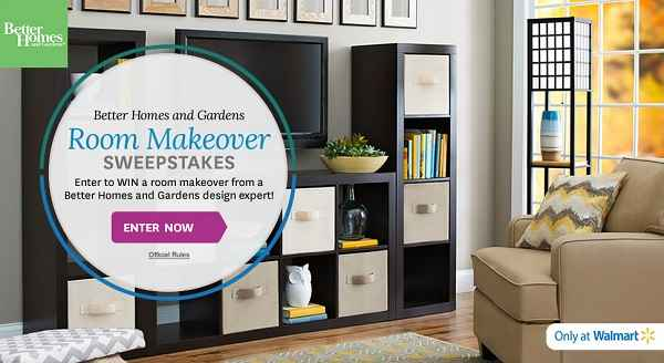 BHG Room Makeover Sweepstakes 2015