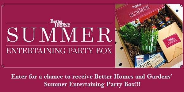 BHG Summer Guide Sweepstakes