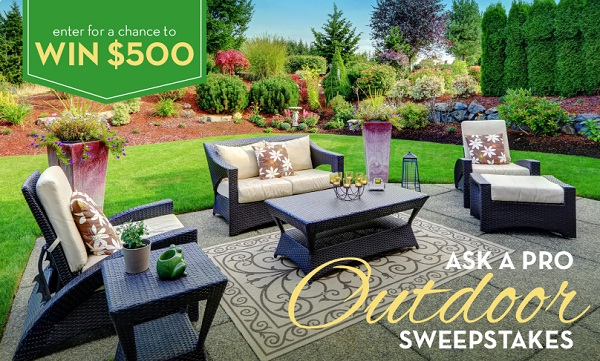 "BHG Real Estate ""Ask a Pro Outdoor Sweepstakes"""