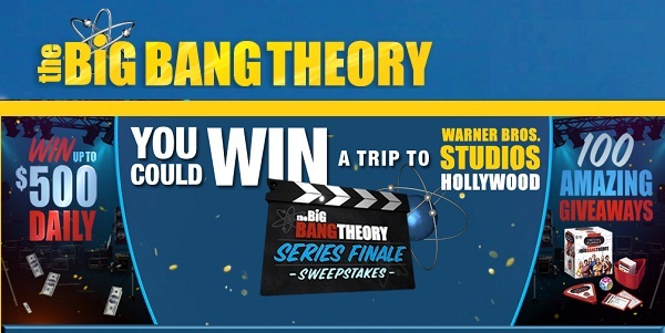 The Big Bang Theory's Big Bang Bat Sweepstakes