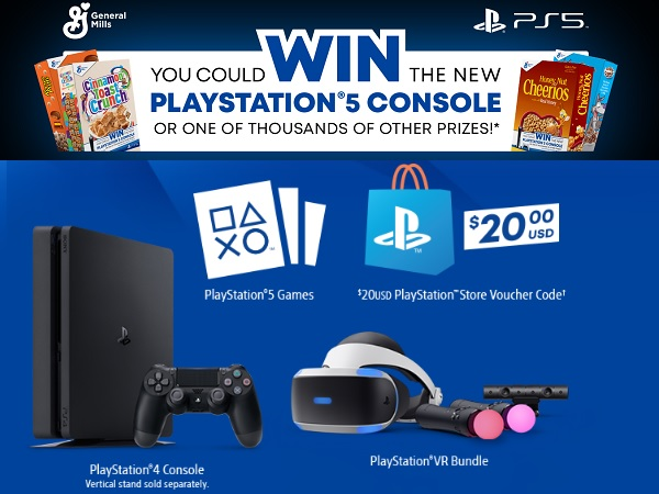 Big G Play Station 5 Sweepstakes 2020 (5000 Prizes)