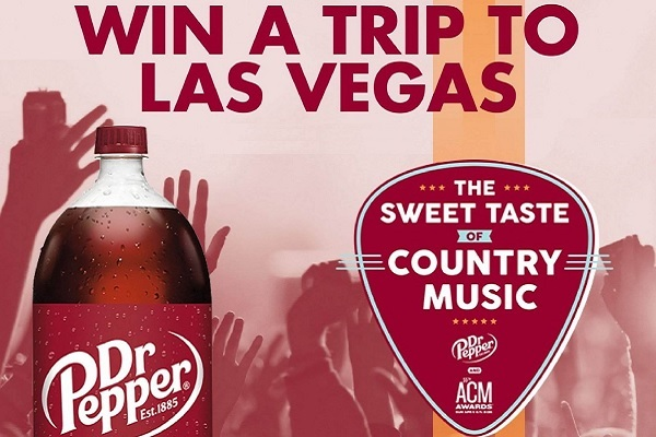 Dr Pepper ACM Awards Sweepstakes